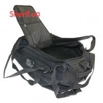 Военная сумка-рюкзак Black транспортировочная, 85л-6