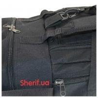 Военная сумка-рюкзак Black транспортировочная, 85л-7