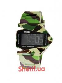Часы Skmei 0817 Green Camouflage