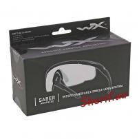 Очки Wiley X SABER ADV. Clear Matte Black Frame w/Bag Black-8