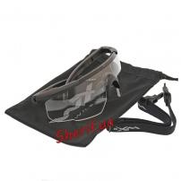 Очки Wiley X SABER ADV. Clear Matte Black Frame w/Bag Black-2