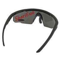 Очки Wiley X SABER ADV. Smoke/Rust/Vermillion Matte Black Frame Black-6