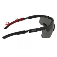 Очки Wiley X SABER ADV. Smoke/Rust/Vermillion Matte Black Frame Black-7