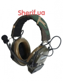 Гарнитура Z Tactical Comt I Headset Z054 Military Standard Plug Woodland