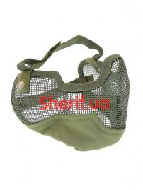 Защитная маска-сетка MIL-TEC AIRSOFT Olive, 15613601