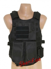 Жилет тактический FSBE mod. M Black