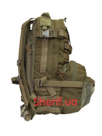 BE0347UA Рюкзак Flyye Jumpable Assault Backpack Coyote brown-2