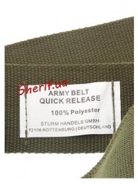 Ремень армейский с пряжкой Olive, 13315501-3