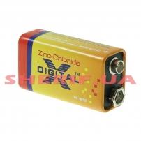 Батарейка X-DIGITAL Longlife коробка 6F22 1X1 шт