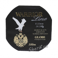 Леска Warrior Global 0,32mm, 100m, 102kg