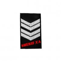 Погон Старший Сержант полиции продевной (1шт)