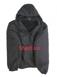 Куртка MIL-TEC Анорак боевая с капюшоном зимняя Black