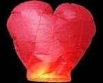 Небесный фонарик 'Сердце'