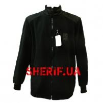Куртка микрофлисовая Полиция Black мод.2018