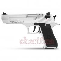 A126151N Пистолет стартовый Retay Eagle X кал. 9 мм. Цвет - nickel