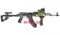 AK-47 Olive Цевье Fab Defence для АК47/74 тактическое 4 планки AK47