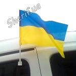 Флаг Украины на авто 30*45