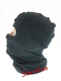 Балаклава MIL-TEK c 1 вырезом хлопок Black-2