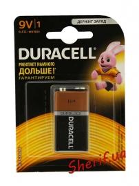 Батарейка DURACELL Duralock 9V / MN1604 KPN, 1шт