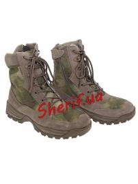 Ботинки MIL-TEC тактические на молнии YKK A-TACS FG-4
