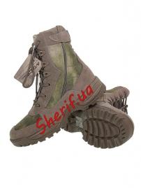 Ботинки MIL-TEC тактические на молнии YKK A-TACS FG-7