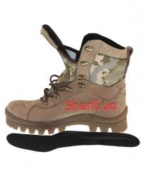 Ботинки с высокой берцой на мембране Digital ВСУ (модель 3/1-зима)-8