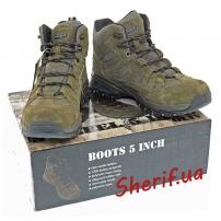"Ботинки MIL-TEC Trooper 5"" Olive, 12824001"