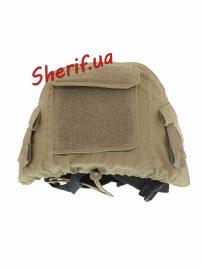 Чехол MIL-TEC для шлема MIL-TEC MT-PLUS COYOTE, 16671505-3