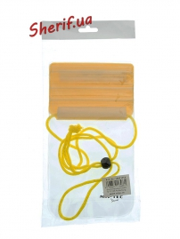 Чехол MIL-TEC нагрудный водонепронецаемый 13х20см Yellow, 15821115-2