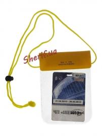 Чехол MIL-TEC нагрудный водонепронецаемый 13х20см Yellow, 15821115-3