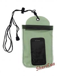 Чехол MIL-TEC водонепроницаемый для документов 14х23см Olive, 15823101-4