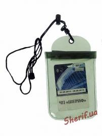 Чехол MIL-TEC водонепроницаемый для документов 14х23см Olive, 15823101-5