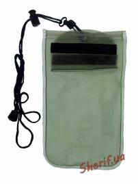 Чехол MIL-TEC водонепроницаемый для документов 14х23см Olive, 15823101