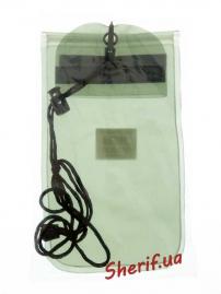 Чехол MIL-TEC водонепроницаемый для документов 14х23см Olive, 15823101-2
