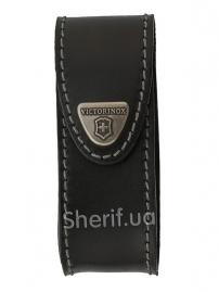 Чехол Victorinox 4.0520.3  поясной черный кожаный