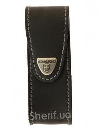 Чехол Victorinox 4.0524.3  поясной черный кожаный
