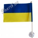 Флаг Украины на присоске 10*15