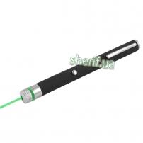 Фонарь-лазер зеленый 803-1, 1 насадка, встроенный аккумулятор, ЗУ micro USB