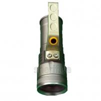 Фонарь переносной Poliсe S911-XPE, ЗУ 220V/12V, 2x18650, zoom, Box