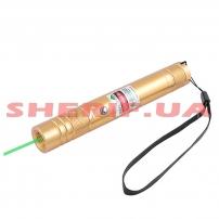 Фонарь-лазер зеленый LM-206, встроенный аккумулятор, ЗУ USB