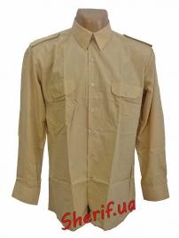 Форменная рубашка MIL-TEC с длин. рук. Khaki