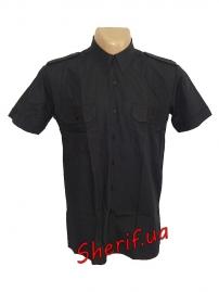 Форменная рубашка MIL-TEC с корот. рук. Black