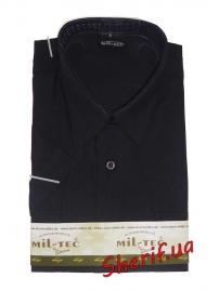 Форменная рубашка MIL-TEC с корот. рук. Black-5
