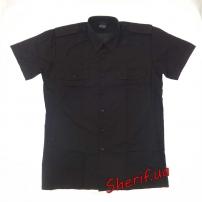 Форменная рубашка MIL-TEC с корот. рук. Black-4