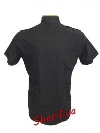 Форменная рубашка MIL-TEC с корот. рук. Black-2