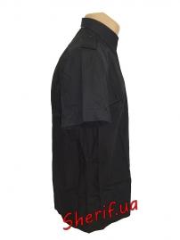 Форменная рубашка MIL-TEC с корот. рук. Black-3