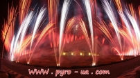Фейерверк Евровидение Ереван 2011