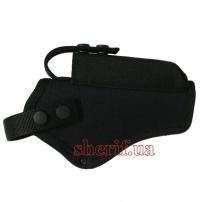 Кобура поясная АПС Стечкина с чехлом (oxford 600d, чёрная)