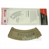 Магазин FAB Defense Ultimag AK 30R Tan кал. 7,62х39 з вікном. Колір - пісочний
