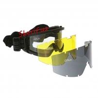 Очки тактические MIL-TEC Brille ANSI EN 166 Black